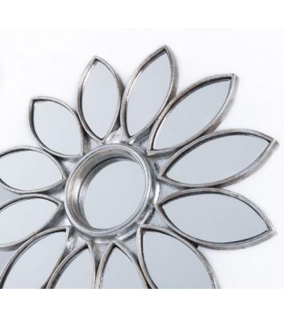 espejo forma flor