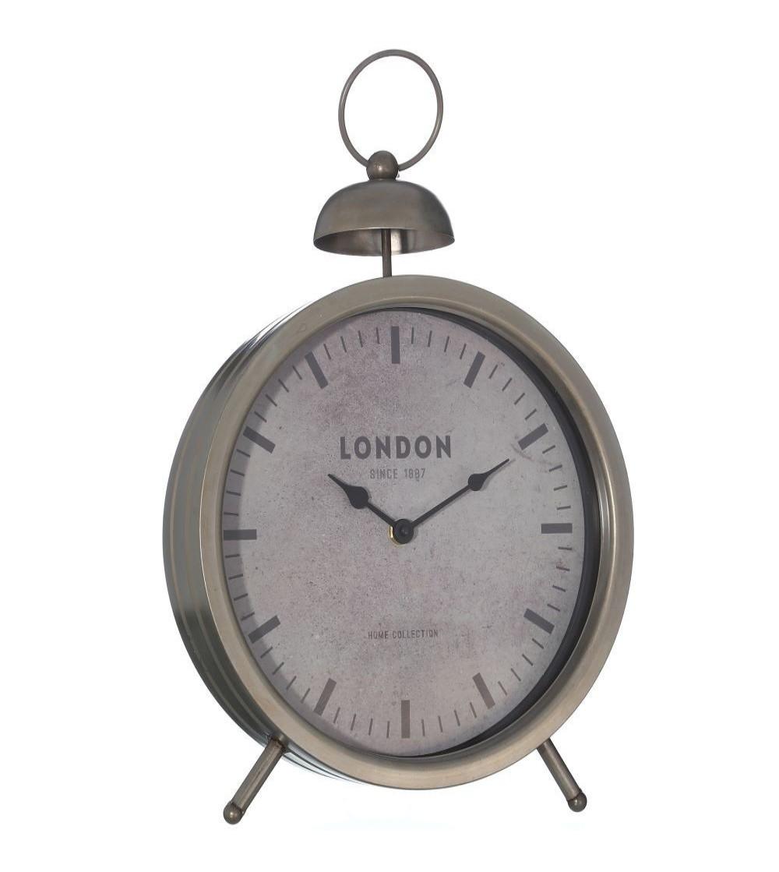 Reloj gris metal